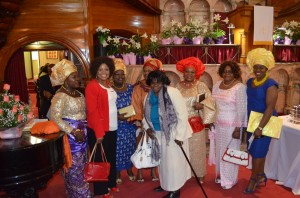 Easter 2015, Women after worship